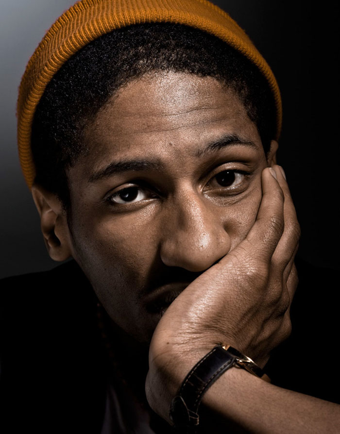 Pianist / Composer Jon Batiste photographed in New York City