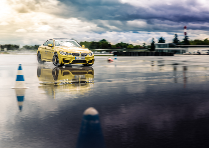 Key Visual for the BMW Driving Experience at the Driving Academy in Maisach, Germany