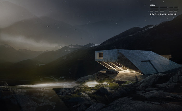 Photography: Michael Schnabel. CGI and Post Production: Recom Farmhouse