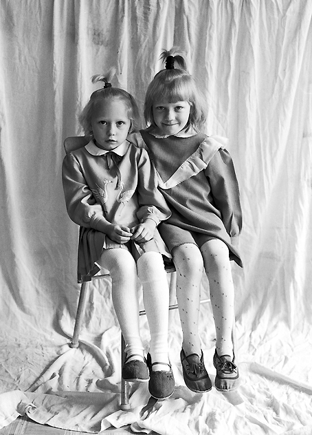 Sisters from a Kindergarten in St. Petersburg