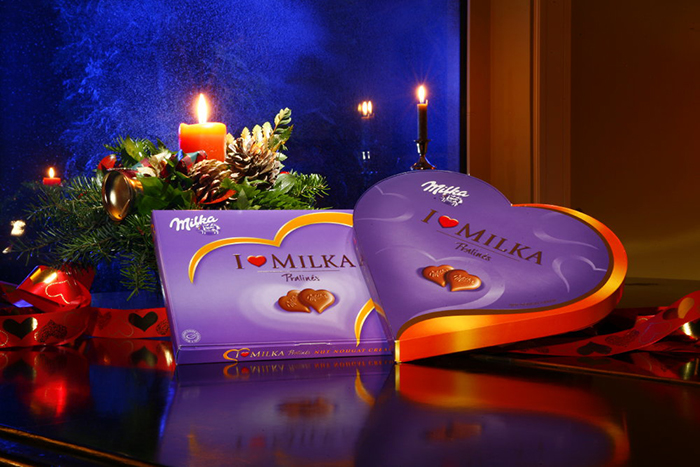 Collaboration with Ogilvy Belgrade for Milka Christmass campaign