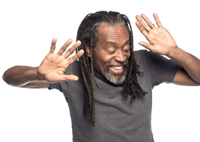 Bobby McFerrin photographed in New York City for Sony Music Entertainment