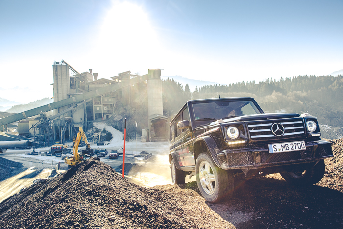 Image Shooting for Mercedes Benz at the Offroad Experience Kitzbühel, Austria 