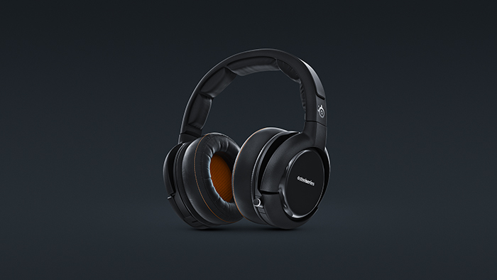 Full CGI build of Siberia 800 Wireless headphones.