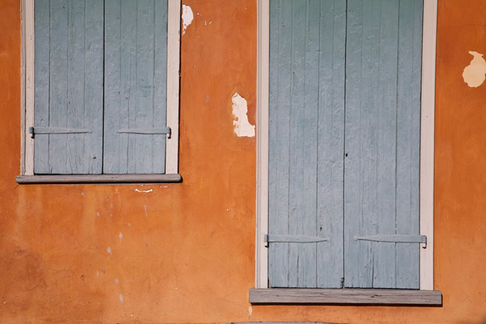 Orange and Blue, New Orleans