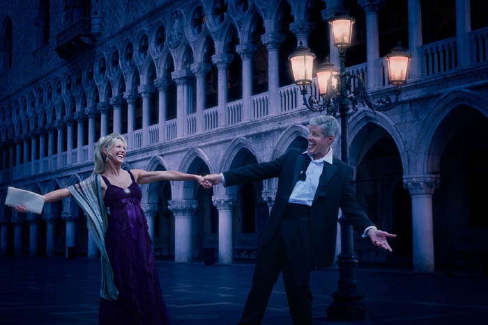 Mature Lifestyle Shoot Set In Venice Italy Titled