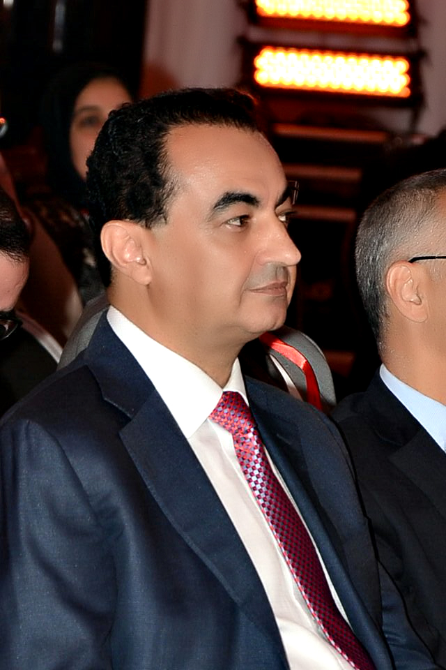 Mohamed Dekkak at the first forum of Skilled Moroccans Residing in the UAE