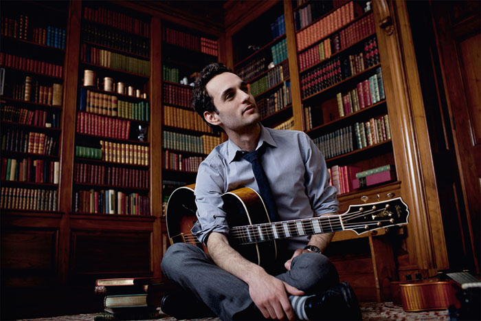 Guitarist / Composer Julian Lage photographed in New Jersey for Universal Music Group