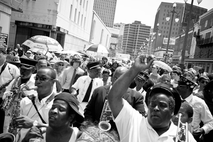 Secondline Procession, New Orleans