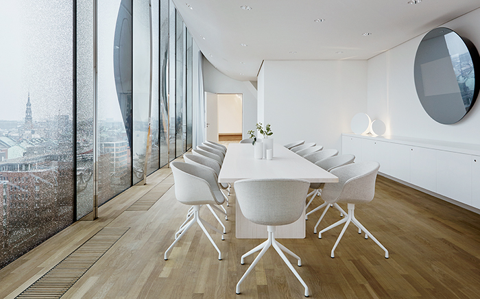 architecture, public buildings, opera, elbphilharmonie, lightning, windows, wood, modern design, conference room, workspace