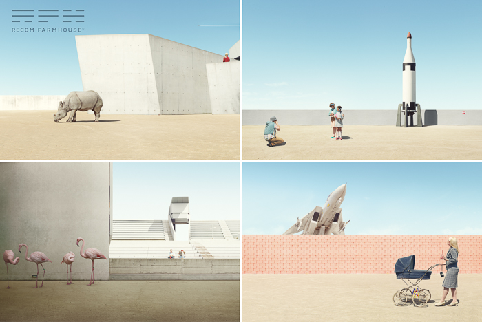 Photography: Clemens Ascher, CGI and Post Production: Recom Farmhouse
