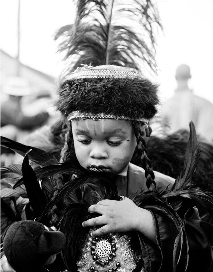 Mardi Gras Indian, New Orleans