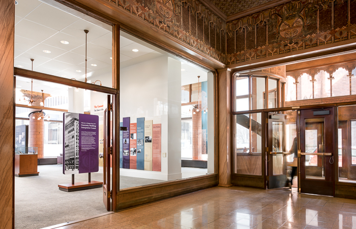 Interpretive Center sponsored by Hodgson Russ in the Guaranty Building by famed American architect, Louis Sullivan