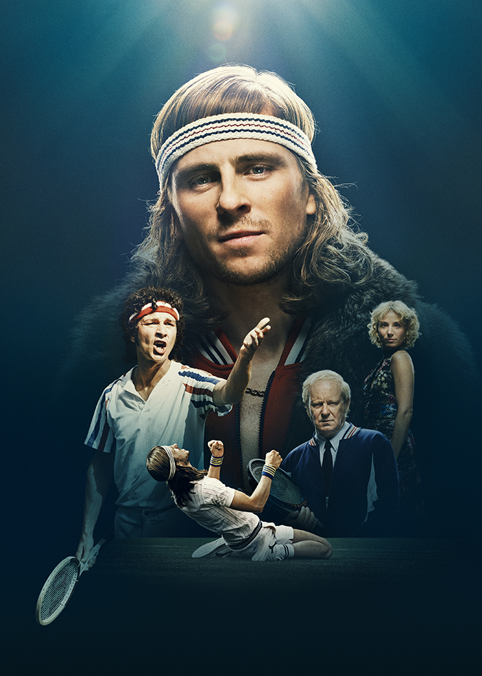 Movie Poster for 2017's Borg McEnroe movie.