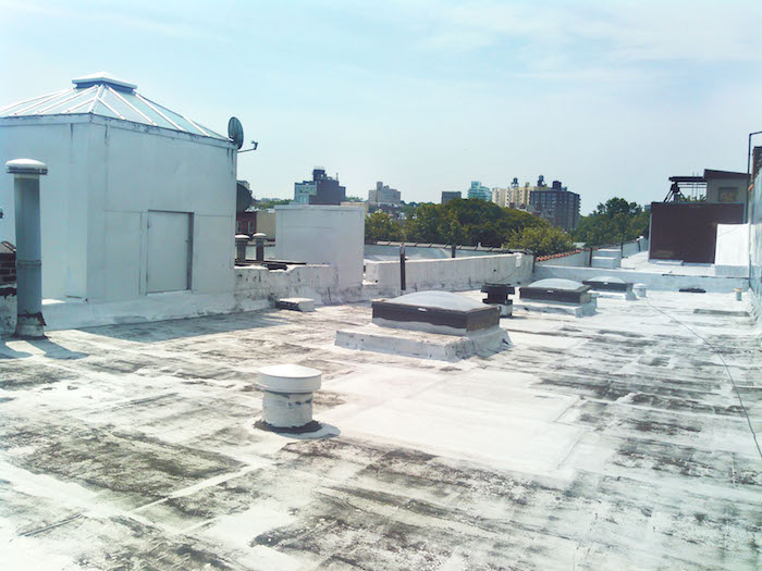 The beautiful rooftop space is over 10,000 square feet of space ideal for outdoor shooting.