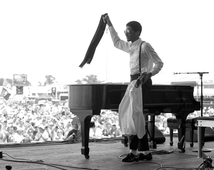 Pianist / Composer Jon Batiste photographed in New Orleans