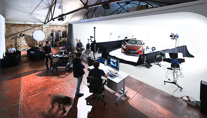 Our main 300sqm+ shooting space at Eleven40. Drive in access, 3 phase power, heaps of equipment on-site for hire, heating A/C, client lounge, cafe/catering on site, workshop, makeup room, stereo, wi-fi, production support available.