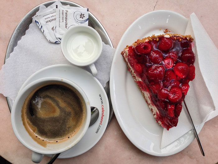 Coffee and Cake, Stuttgart, Southern Germany