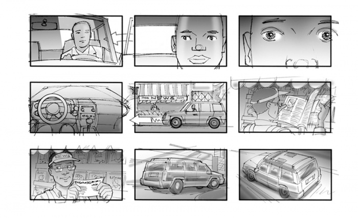 Storyboards By Ed Cook By Edcookartist - Vimity.Com