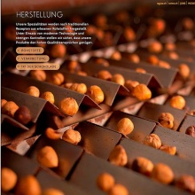 Industrial photography - Swiss Chocolate factory