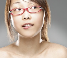 Asian Portrait (Glasses ADV)