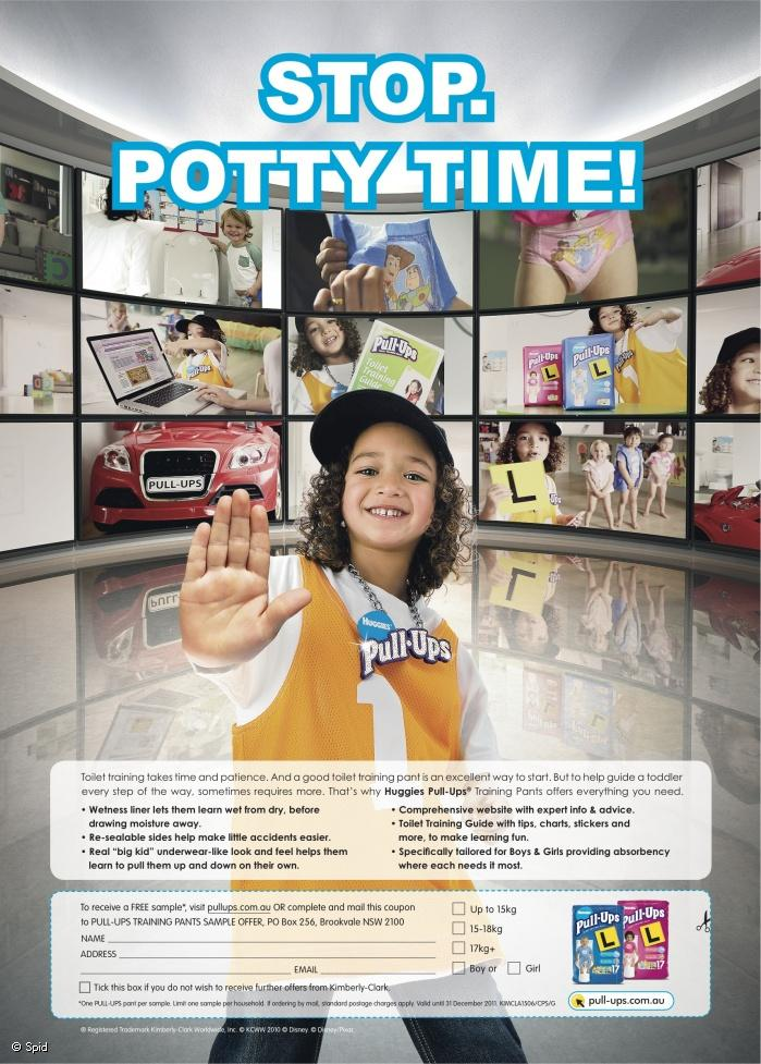 Photographer: Spid Production: OPTNZ Agency: Ogilvy & Mather Sydney Client: Kimberly Clark Australia, Huggies