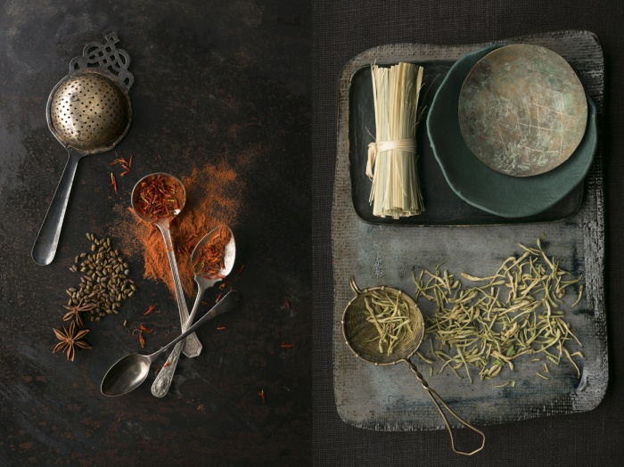 Medicinal herbs and seeds traditionally used for by acupuncturist.