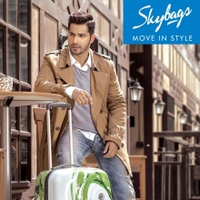SKYBAGS Campaign with Varun Dhawan