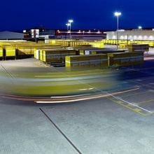 Architecture photography - Logistic Terminal Swiss Post
