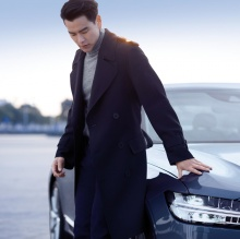 Celebrity Eddie Peng for Volvo S90 China