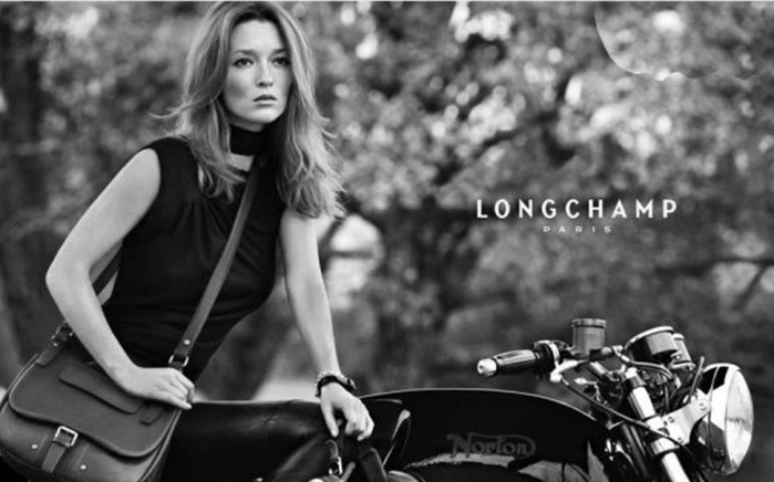 Photo shooting for Longchamp in Luberon