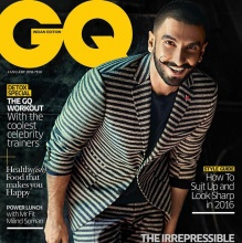 GQ January Cover with Ranveer Singh 2016.