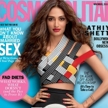 Athiya Shetty - COSMOPOLITAN India (November 2015)