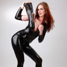 Liquid Latex - Latex Fotoshooting