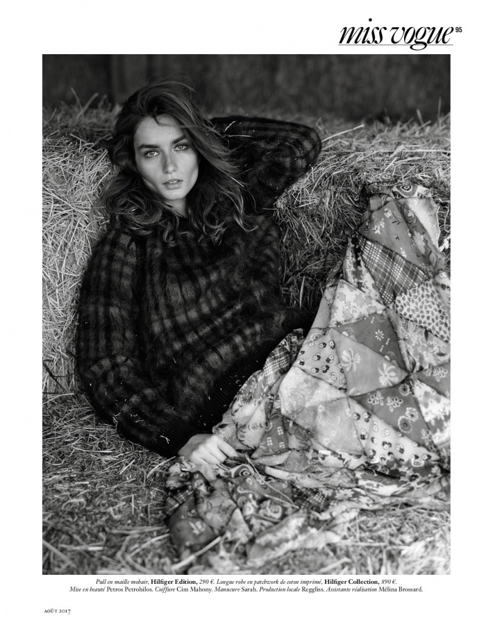 Fashion shoot in Camargue and south of france for French Vogue