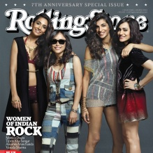 Women of Indian Rock - Rolling Stone India (March 2015)