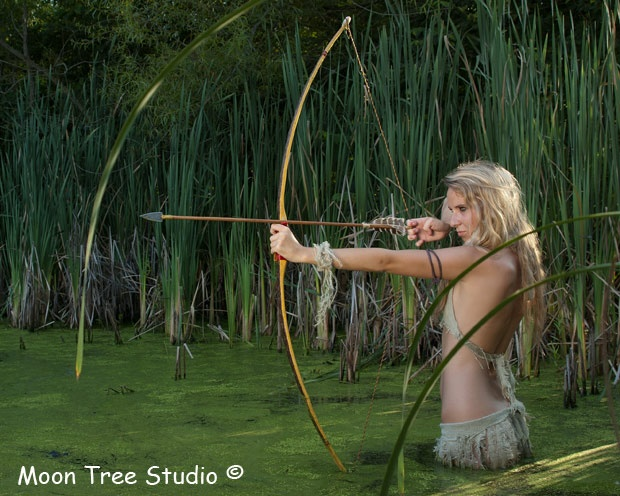 Glamour and Primitive Archery   Model Management
