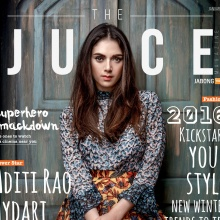 Aditi Rao Hydari - THE JUICE (Jan 2016)