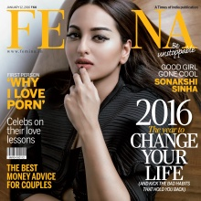 SONAKSHI SINHA - FEMINA (January 12, 2016)