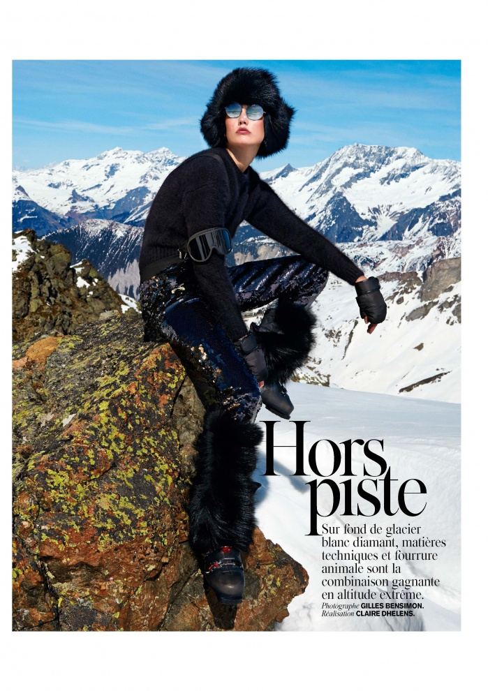 High French Alps photo production for Vogue