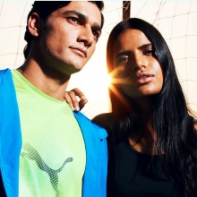 Preeti Dhata - Puma Look Book '13