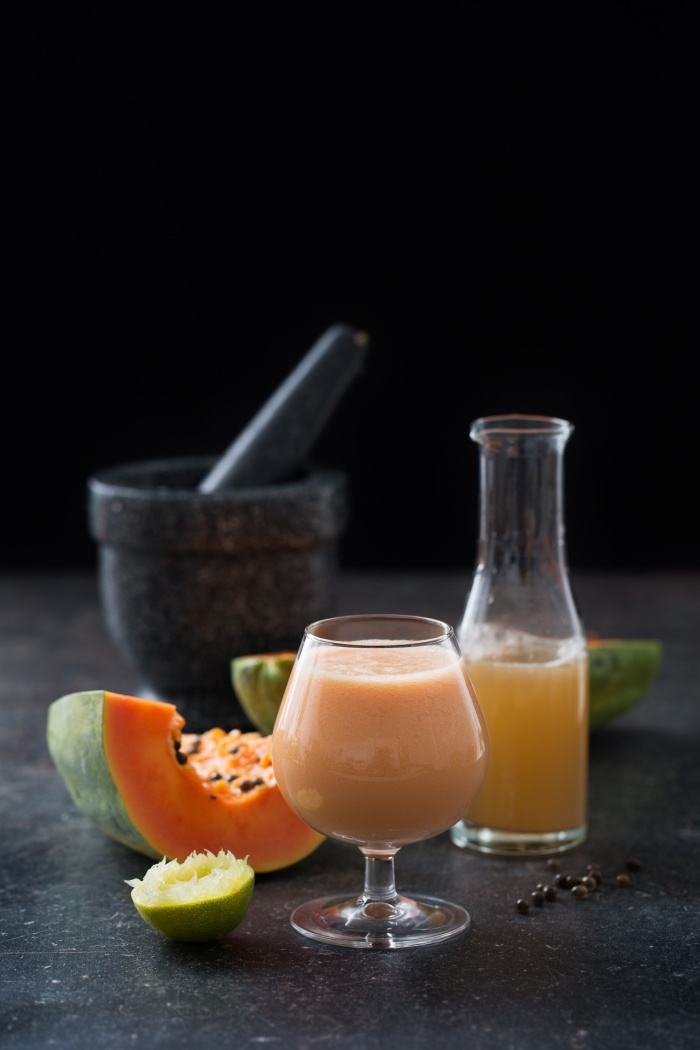 Assignment: Recipe photos for the book Smoothies och juicer