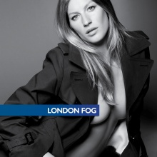 Gisele Bündchen for London Fog