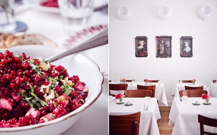 interior, food, minimalistic, restaurant, modern, risotto, beetroot