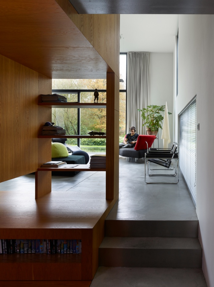 Shot for Polo architects in a private house Bonheide.