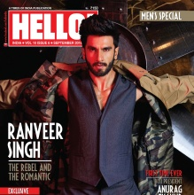RANVEER SINGH - Hello! India (Sept 2016)