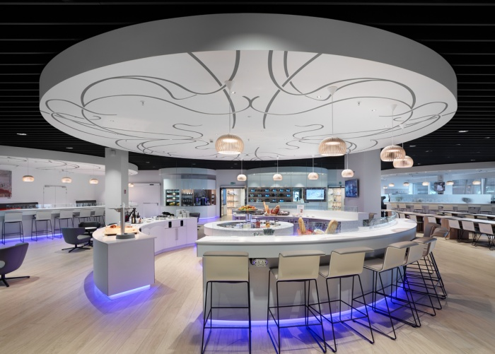 Shot for Tecnospace in the SN Brussels Airlines lounge in Brussels international airport.