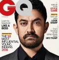 AAMIR KHAN - GQ India (July 2016)