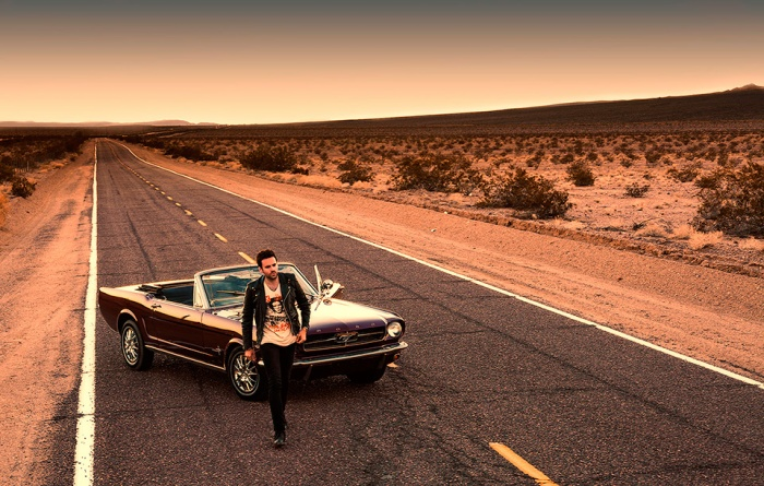 A journey on the historic Route 66 from Barstow and Newberry Springs to Los Angeles was the location for the international DJ Gareth Emery's new album