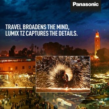 Launch Campaign, Panasonic Lumix TZ 70 in Marokko